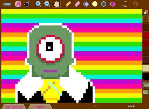 Make Pixel Art Tool Editor